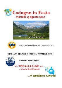15.08.2017 Festa in Cadagno