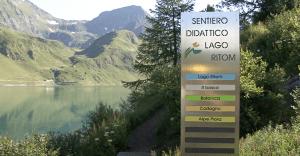 Region Ritom-Piora: didaktischer Weg und Lago di Dentro