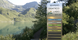 Ritom-Piora region: the didactic path and the lake of Dentro